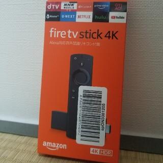 パナソニック(Panasonic)のAmazon Fire tv Stick 4K ファイヤースティック 新品未開封(映像用ケーブル)