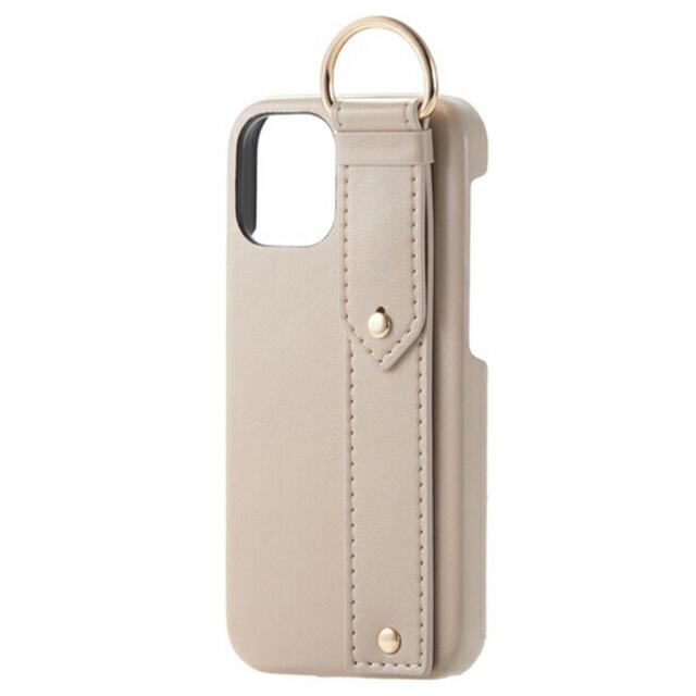 ELECOM(エレコム)のiPhone12mini レザー ケース  オープン型  5.4 ベージュ スマホ/家電/カメラのスマホアクセサリー(iPhoneケース)の商品写真