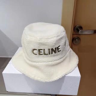 celine - 美品 celine セリーヌ リバーシブルバケットハット