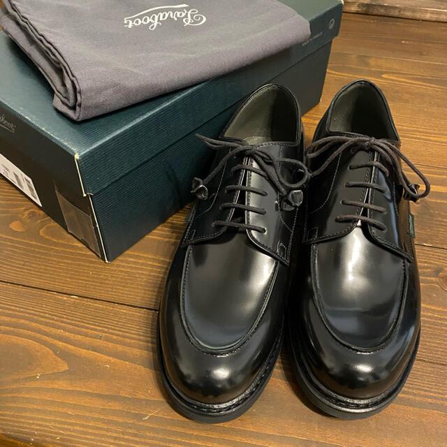 Paraboot(パラブーツ)の新品未使用 パラブーツ シャンボード ガラスレザー 革靴 ビジネス メンズの靴/シューズ(ドレス/ビジネス)の商品写真