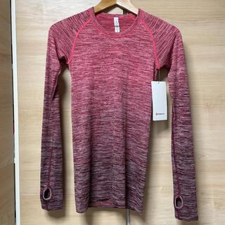 lululemon - 新品タグ付き ルルレモン サイズ4 長袖 シャツ ロングスリーブ