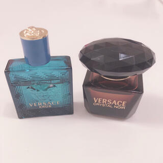 ヴェルサーチ(VERSACE)のヴェルサーチ ミニ香水2点セット❣️(ユニセックス)