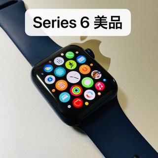 Apple Watch - 美品 Apple Watch series 6 40mmブルー