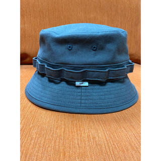 W)taps - WTAPS JUNGLE / HAT. COTTON. SATIN ブラック