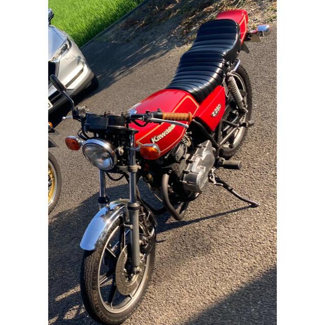 カワサキ(カワサキ)のz250ft z400fx カワサキ KAWASAKI 自動車/バイクのバイク(車体)の商品写真