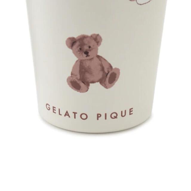 gelato pique(ジェラートピケ)のジェラートピケ ベアモチーフコンビニカップタンブラー ジェラピケ クマ柄 くま柄 インテリア/住まい/日用品のキッチン/食器(タンブラー)の商品写真
