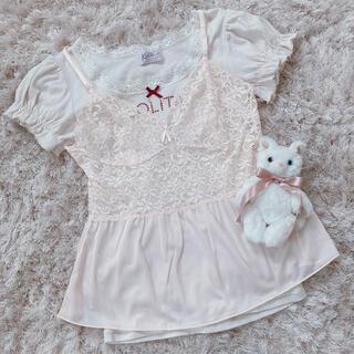 エディットフォールル(EDIT.FOR LULU)の今週限定 baby pink lingerie(キャミソール)