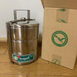 シーガル seagull フードキャリア ステンレス製 弁当箱 16cm 3段