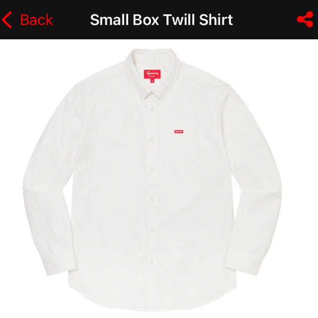Supreme(シュプリーム)の木村拓哉着 Supreme Small Box Twill Shirtキムタク  メンズのトップス(シャツ)の商品写真