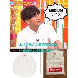 Supreme - 木村拓哉着 Supreme Small Box Twill Shirtキムタク