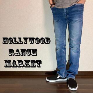 HOLLYWOOD RANCH MARKET - 【H.R.MARKET】ハリウッドランチマーケット ストレッチデニム
