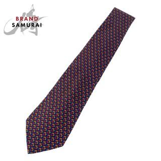 サルヴァトーレフェラガモ(Salvatore Ferragamo)のサルヴァトーレフェラガモ 剣先9.5cm ネクタイ 105084(ネクタイ)