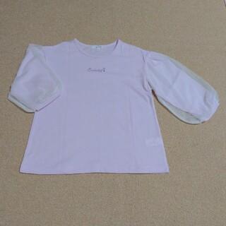 サンカンシオン(3can4on)の薄ピンク7分袖 140(Tシャツ/カットソー)