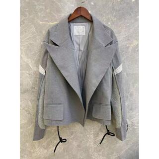サカイ(sacai)のSACAI 20FW  レディース スーツジャケット  (ノーカラージャケット)