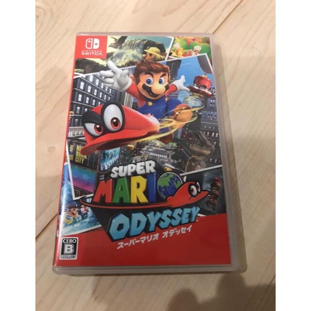 Nintendo Switch(ニンテンドースイッチ)のスーパー マリオ  オデッセイ Switch エンタメ/ホビーのゲームソフト/ゲーム機本体(家庭用ゲームソフト)の商品写真