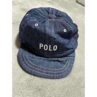 ポロラルフローレン(POLO RALPH LAUREN)のPOLOベビー キャップ 48〜50(帽子)
