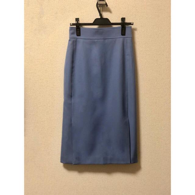 martinique Le Conte(マルティニークルコント)の【美品】マルティニーク スリットタイトスカート レディースのスカート(ひざ丈スカート)の商品写真