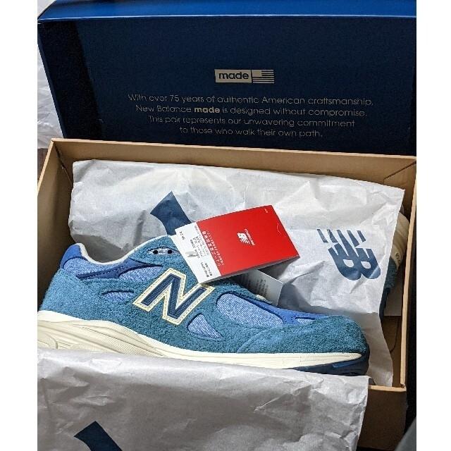 "New Balance(ニューバランス)のLEVI'S × NEW BALANCE M990LI3 ""BLUE"" メンズの靴/シューズ(スニーカー)の商品写真"