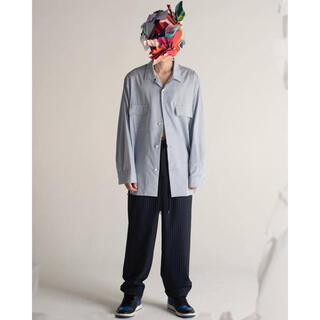 Jieda - thee ambivalent shirts ブルーストライプ サイズ1