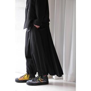 ヨウジヤマモト(Yohji Yamamoto)のyohji yamamoto pour homme 19ssカラスパンツ(スラックス)