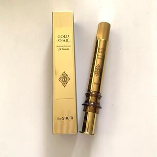 the saem - 新品未使用the SAEM Gold Snail Wrinkle Plumper