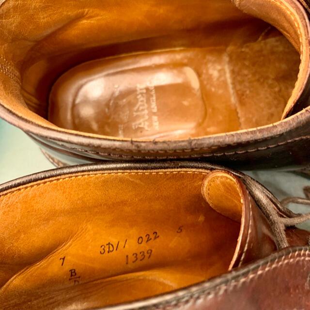 Alden(オールデン)の名作❗️《ALDEN》1339コードバン 7Dチャッカ シューバッグ付属 メンズの靴/シューズ(ドレス/ビジネス)の商品写真
