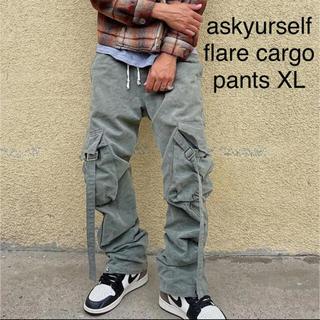 FEAR OF GOD - askyurself flare cargo pants XL フレア パンツ