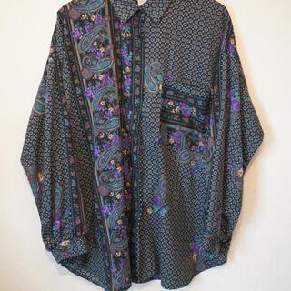 ラッドミュージシャン(LAD MUSICIAN)のクレイジーパターンペイズリーシャツ 古着 美品(シャツ)