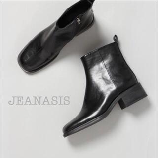 ジーナシス(JEANASIS)の*JEANASIS* 完売品 レザーブーツ(ブーツ)