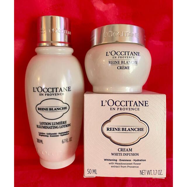 L'OCCITANE(ロクシタン)のめんみ様 ご専用 ロクシタン レーヌブランシュ フェイスウォーター クリーム コスメ/美容のスキンケア/基礎化粧品(フェイスクリーム)の商品写真