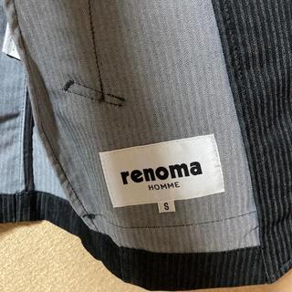 レノマ(RENOMA)の激安 秋に◎ renoma HOMME 長袖 ジャケット 未使用品 サイズS(Gジャン/デニムジャケット)