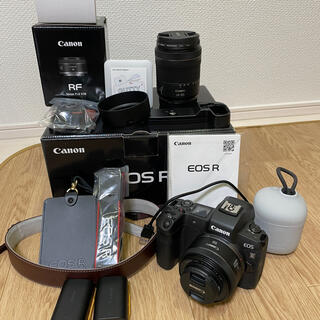 Canon - 本日限り!Canon EOS R +レンズ2本 おまけ