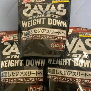 ザバス(SAVAS)のザバス アスリートウエイトダウン チョコレート風味(プロテイン)