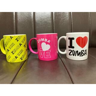 ズンバ(Zumba)の新品 ZUMBAマグカップ 3個セット(グラス/カップ)