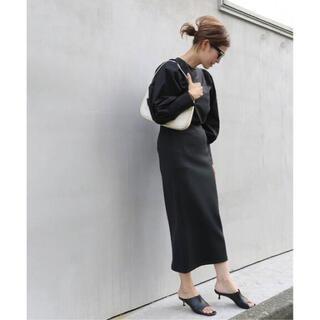 ドゥーズィエムクラス(DEUXIEME CLASSE)の新品タグ付 ドゥーズィーエムクラス Scuba Knit スカート 38(ロングスカート)