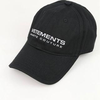 VETEMENTS REFLECTOR CAP