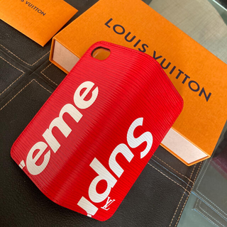 LOUIS VUITTON - Louis Vuitton × Supreme iPhone7ケース✩.*˚