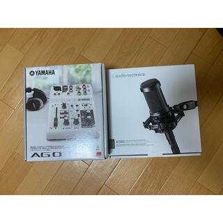 audio-technica - Yamaha ag03 & At2035