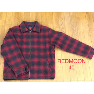レッドムーン(REDMOON)の【美品・入手困難】REDMOON ジャケット 40 激レア(ブルゾン)