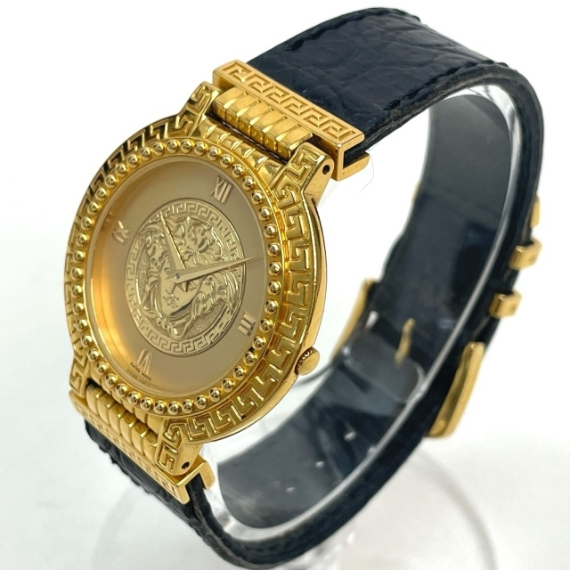 Gianni Versace(ジャンニヴェルサーチ)のジャンニ・ヴェルサーチ 7008011 クオーツ メドゥーサ メンズ腕時計 メンズの時計(腕時計(アナログ))の商品写真