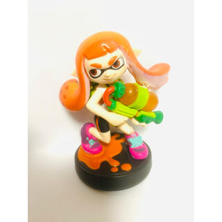 ニンテンドウ(任天堂)のオレンジガール インクリング ガール amiibo アミーボ スプラトゥーン ②(ゲームキャラクター)