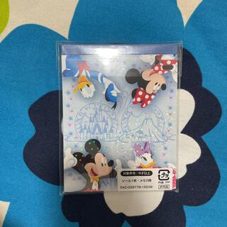 Disney - ディズニーメモ帳 ミッキー ミニー