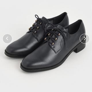チャールズアンドキース(Charles and Keith)のメタリックアクセントダービーシューズ (ローファー/革靴)