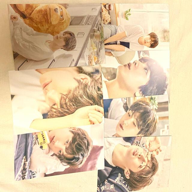 防弾少年団(BTS)(ボウダンショウネンダン)のbts オヌル展示会 ポストカード Bセット エンタメ/ホビーのタレントグッズ(アイドルグッズ)の商品写真