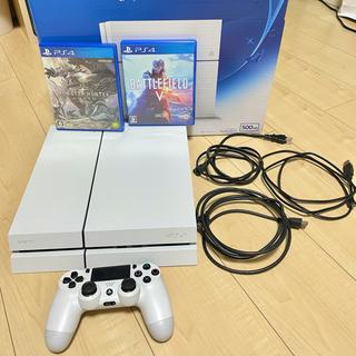 PlayStation4 - ⭐️PS4 本体 + ソフト2本 すぐ遊べるセット⭐️
