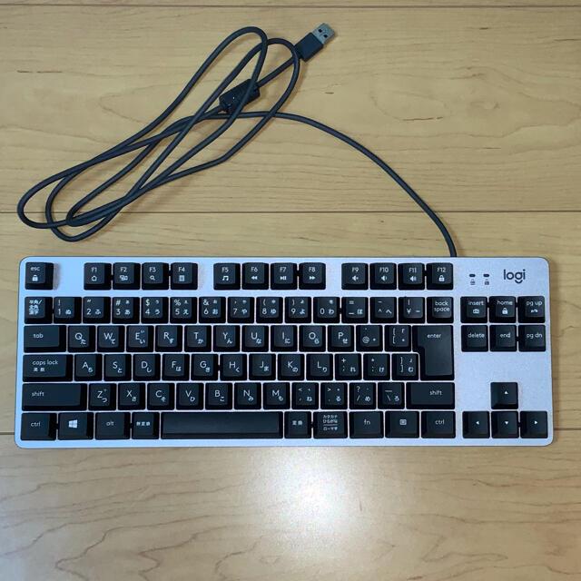Logicool K835GPR 有線 TKL メカニカルキーボード 赤軸 スマホ/家電/カメラのPC/タブレット(PC周辺機器)の商品写真