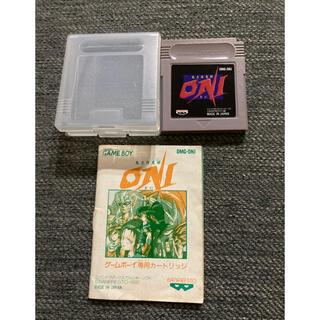 ゲームボーイ(ゲームボーイ)のONI(携帯用ゲームソフト)