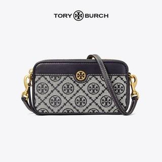 Tory Burch - 新品 匿名配送 トリーバーチ Tモノグラム ダブルジップ バッグ