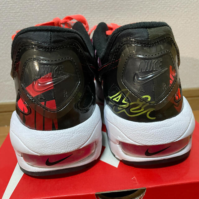 NIKE(ナイキ)のATMOS×NIKE AIR MAX 2 LIGHT BLACK 28.0cm メンズの靴/シューズ(スニーカー)の商品写真