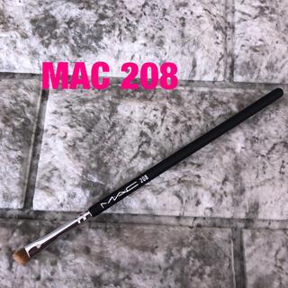 マック(MAC)のMAC メイクブラシ 208 アングルド ブロウブラシ (コフレ/メイクアップセット)
